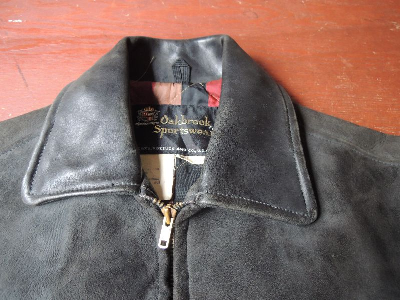 60S OAKBROOK SUEDE LEATHER JACKET--RECOMMEND--_c0176867_133146.jpg