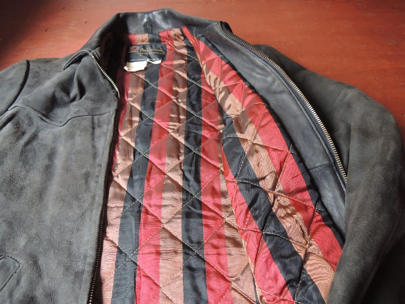 60S OAKBROOK SUEDE LEATHER JACKET--RECOMMEND--_c0176867_1342896.jpg