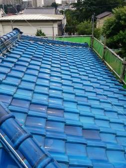 板橋区の西台で、瓦屋根修理工事_c0223192_2312277.jpg