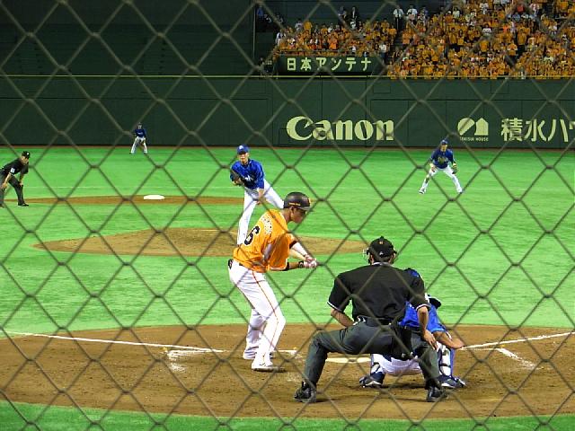 東京ドーム 読売巨人軍vs横浜DeNAベイスターズ_d0022799_20383339.jpg