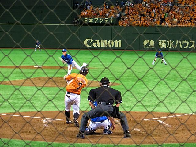 東京ドーム 読売巨人軍vs横浜DeNAベイスターズ_d0022799_2056734.jpg