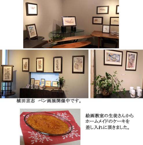 植田言志 ペン画展_e0109554_11500710.jpg