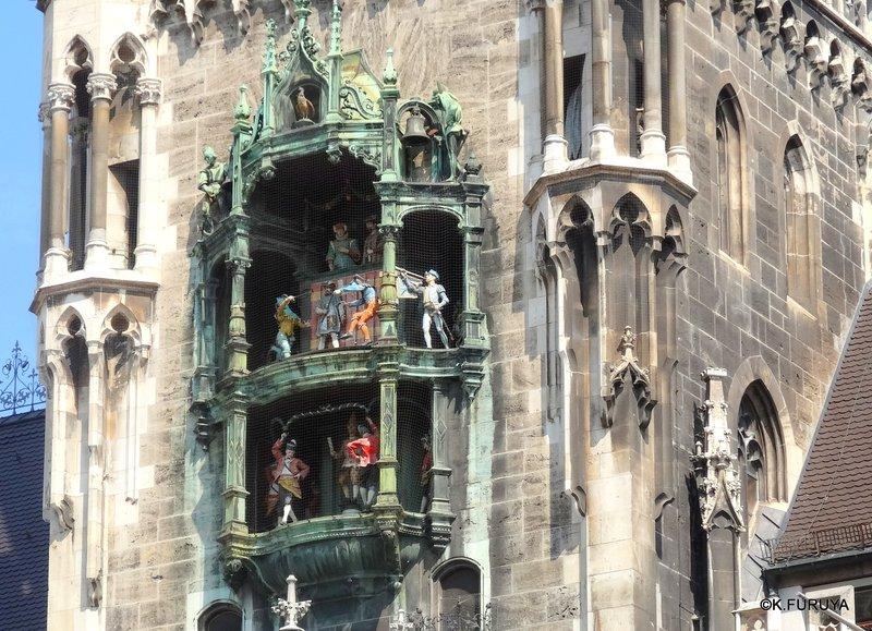 ドイツ9日間の旅 5 ミュンヘン そのⅡ  新市庁舎_a0092659_1726930.jpg