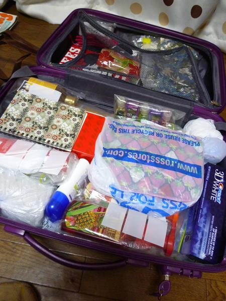 帰国直後のスーツケースの中身_c0152767_18432187.jpg