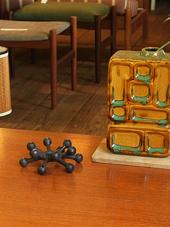 candle holder & candle(DANSK)_c0139773_1881585.jpg