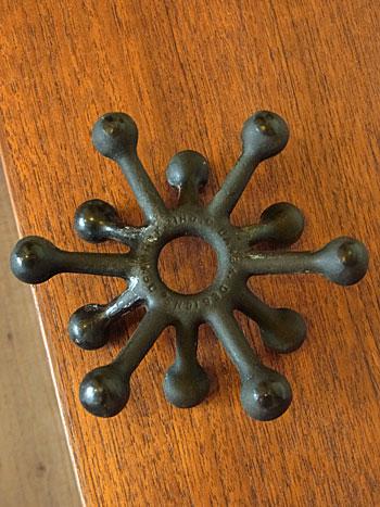 candle holder & candle(DANSK)_c0139773_1885473.jpg