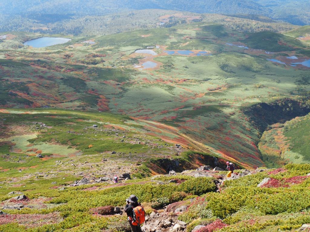 紅葉登山、9月16日-安足間分岐から登山口編-_f0138096_20274433.jpg