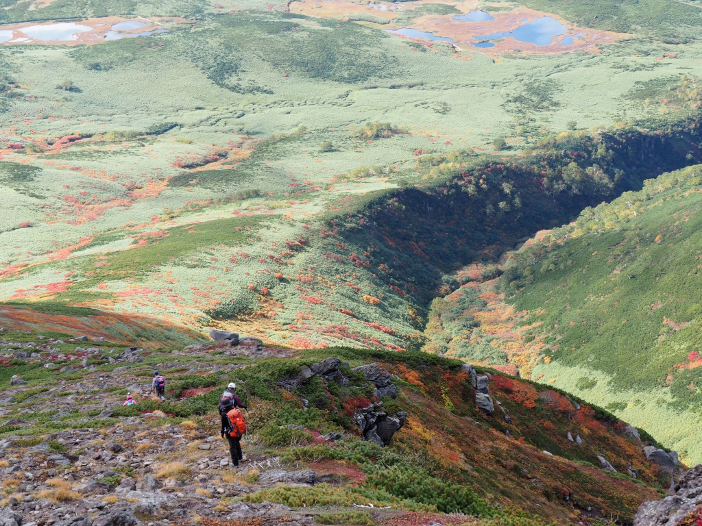 紅葉登山、9月16日-安足間分岐から登山口編-_f0138096_20275330.jpg