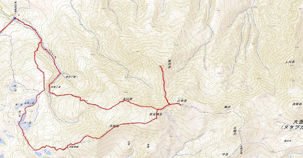 紅葉登山、9月16日-安足間分岐から登山口編-_f0138096_20303530.jpg