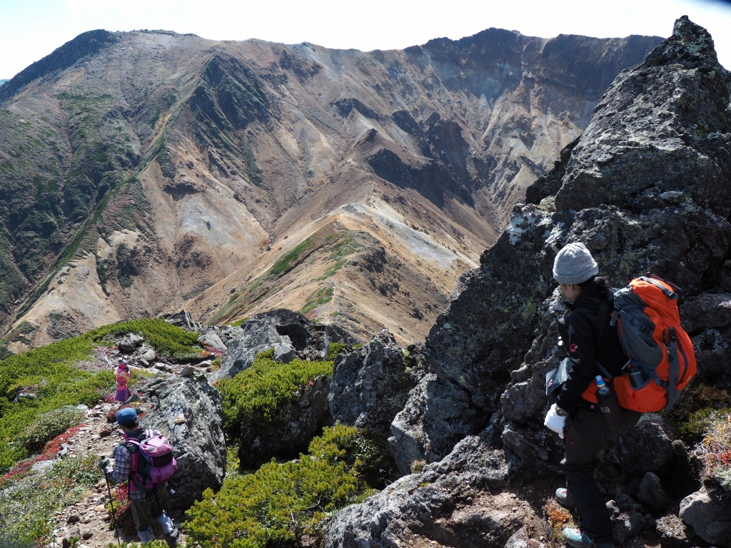 紅葉登山、9月16日-愛別岳から安足間分岐編-_f0138096_9372798.jpg