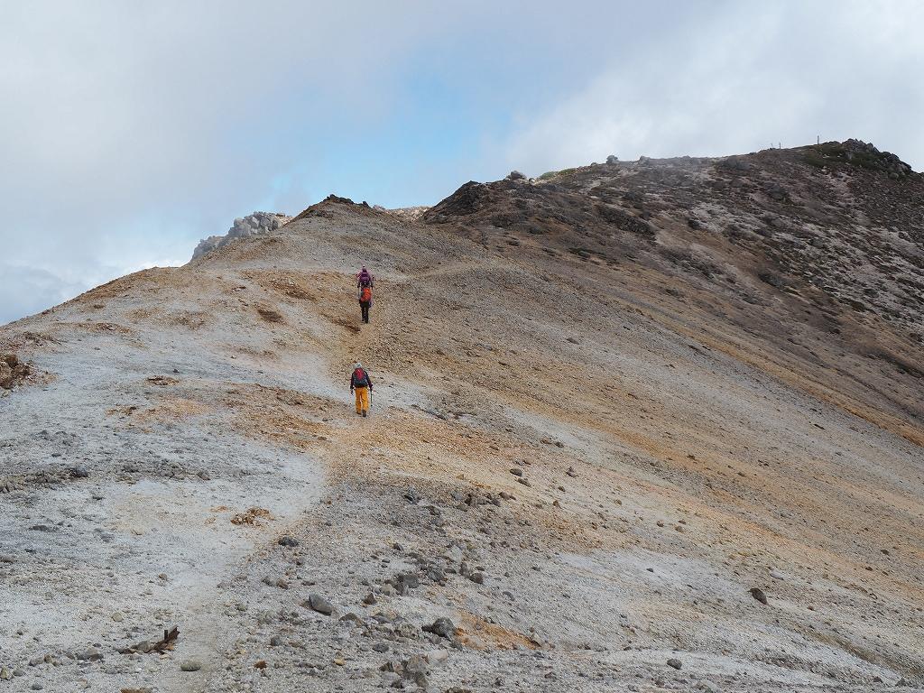 紅葉登山、9月16日-愛別岳から安足間分岐編-_f0138096_9373569.jpg