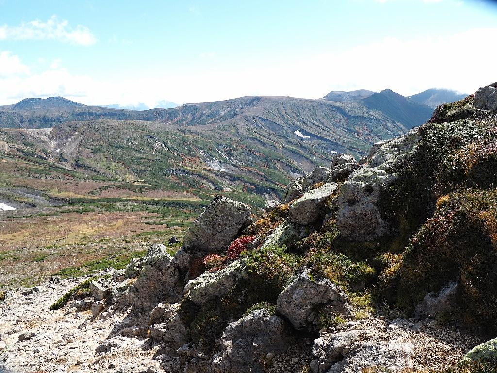 紅葉登山、9月16日-愛別岳から安足間分岐編-_f0138096_938158.jpg