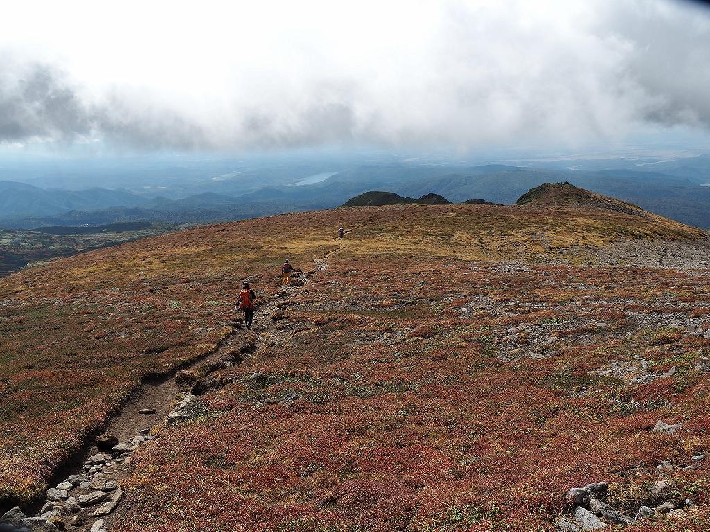 紅葉登山、9月16日-愛別岳から安足間分岐編-_f0138096_9384753.jpg
