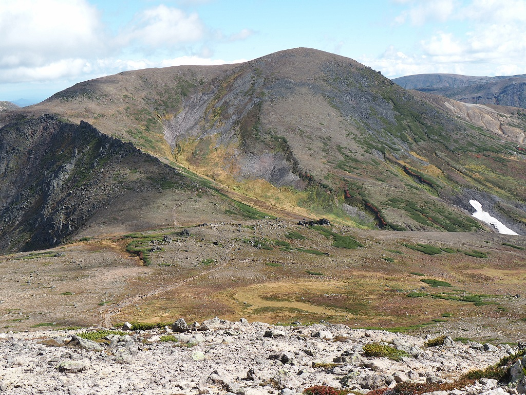 紅葉登山、9月16日-愛別岳から安足間分岐編-_f0138096_938781.jpg