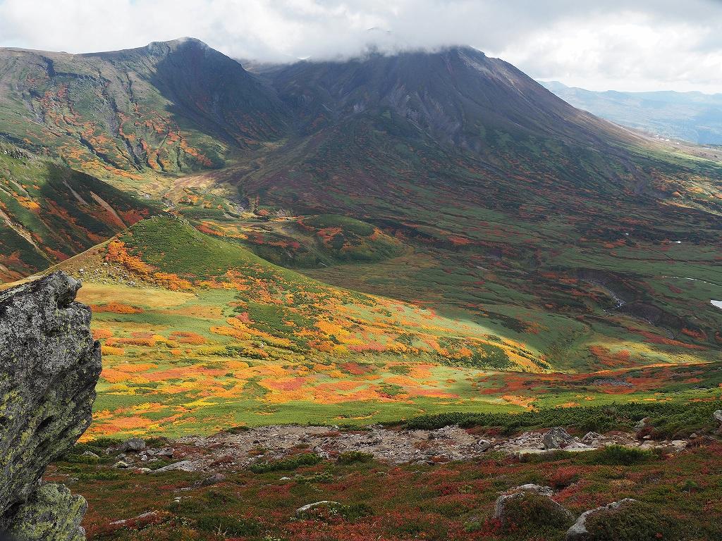 紅葉登山、9月16日-愛別岳から安足間分岐編-_f0138096_9395225.jpg