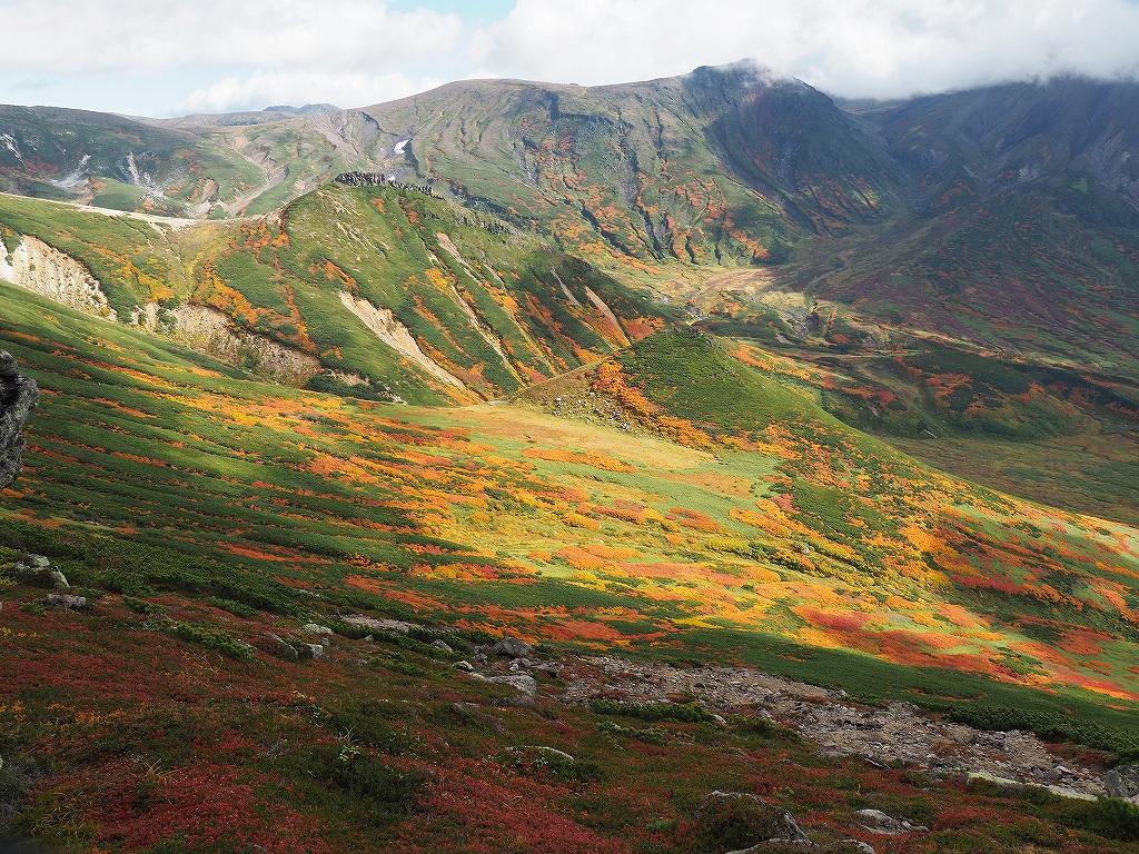 紅葉登山、9月16日-愛別岳から安足間分岐編-_f0138096_940370.jpg