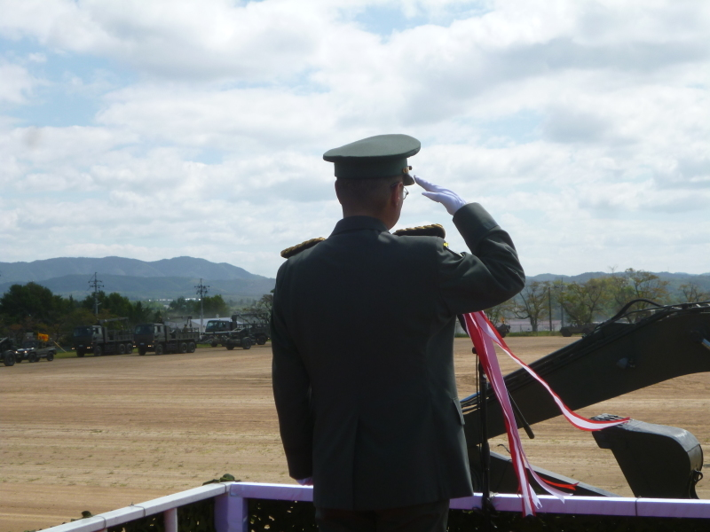 9月20日の日本原駐屯地創設50周年記念日行事に参加して。_c0326333_20315117.jpg