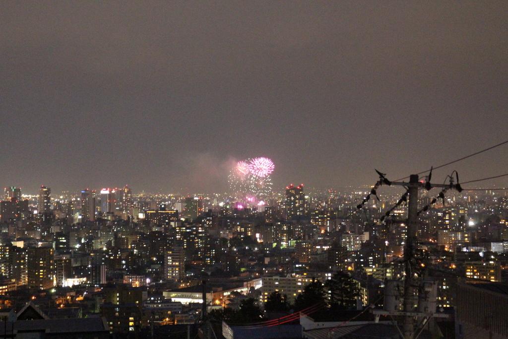 豊平川花火_f0209434_20583551.jpg