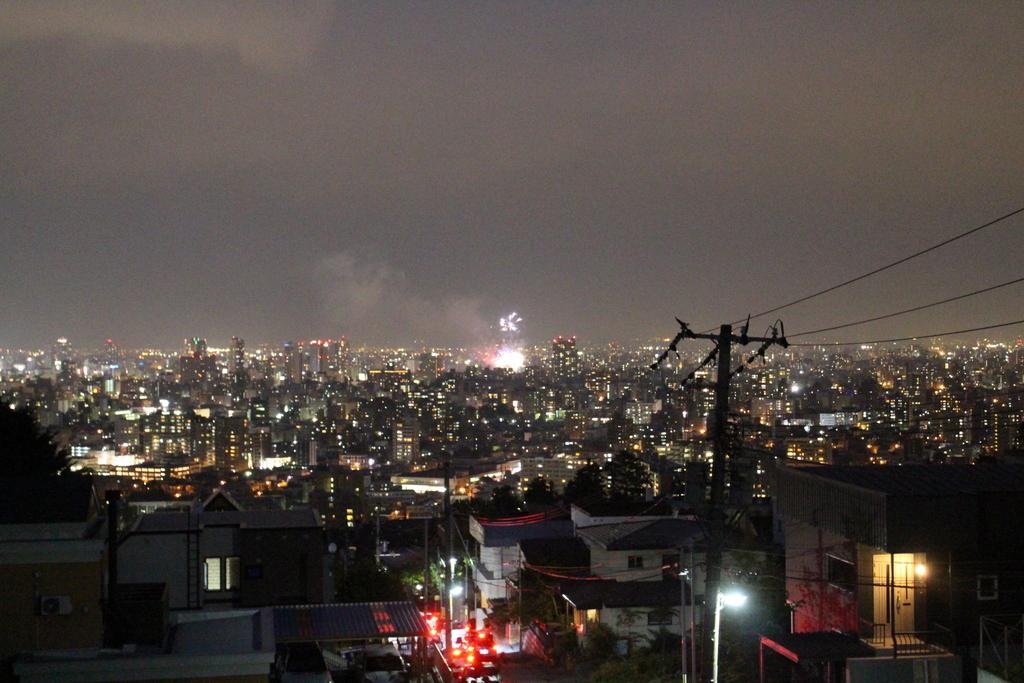 豊平川花火_f0209434_20585182.jpg