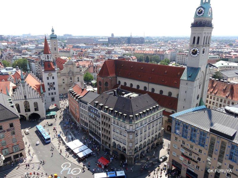 ドイツ9日間の旅 5 ミュンヘン そのⅡ  新市庁舎_a0092659_137359.jpg