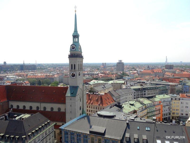 ドイツ9日間の旅 5 ミュンヘン そのⅡ  新市庁舎_a0092659_1384122.jpg