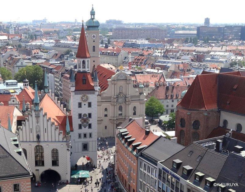ドイツ9日間の旅 5 ミュンヘン そのⅡ  新市庁舎_a0092659_1581428.jpg