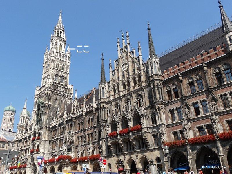 ドイツ9日間の旅 5 ミュンヘン そのⅡ  新市庁舎_a0092659_2101534.jpg