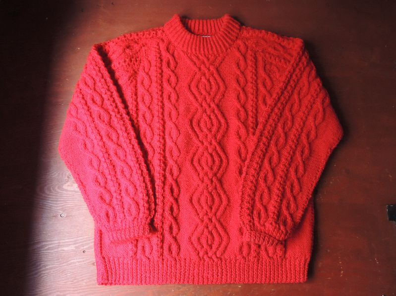 FISHERMAN KNIT SWETER--RECOMMEND--_c0176867_13313425.jpg