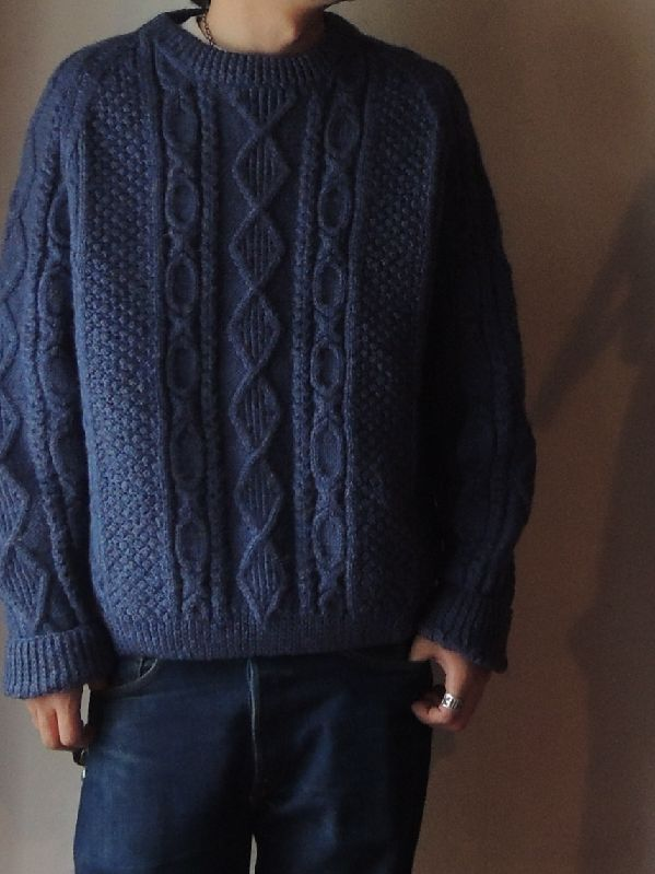 FISHERMAN KNIT SWETER--RECOMMEND--_c0176867_13424357.jpg