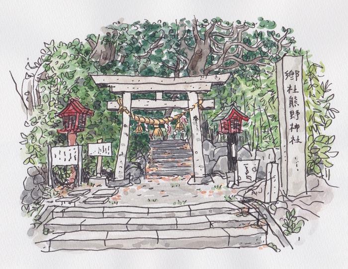秋田県にかほ市象潟のスケッチ 3日目_f0072976_21244369.jpg