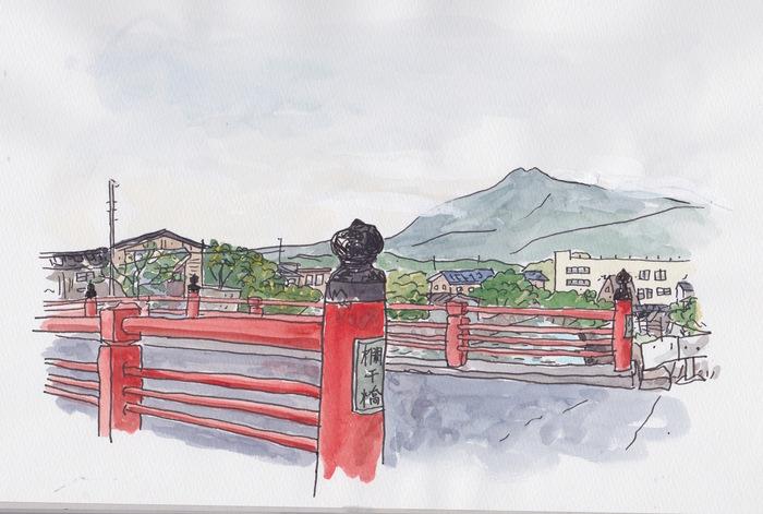 秋田県にかほ市象潟のスケッチ 3日目_f0072976_21252154.jpg