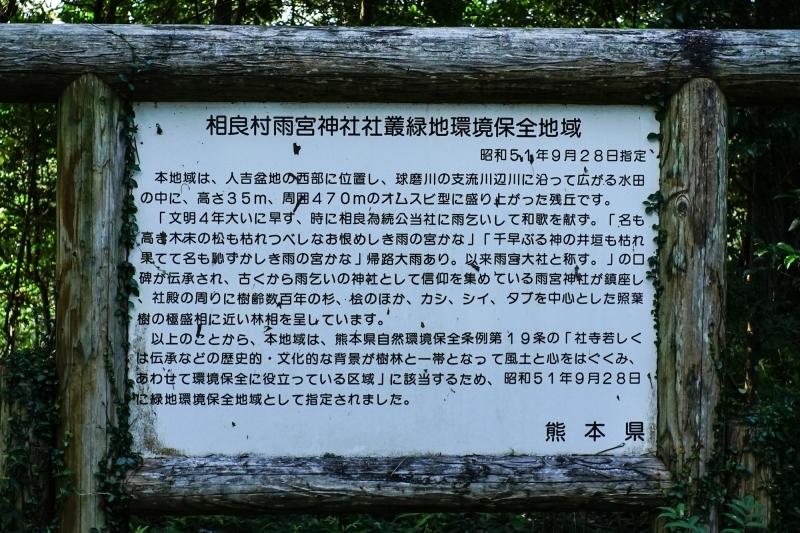 日本遺産 人吉球磨 雨宮神社 トトロの森_c0338787_16181160.jpg