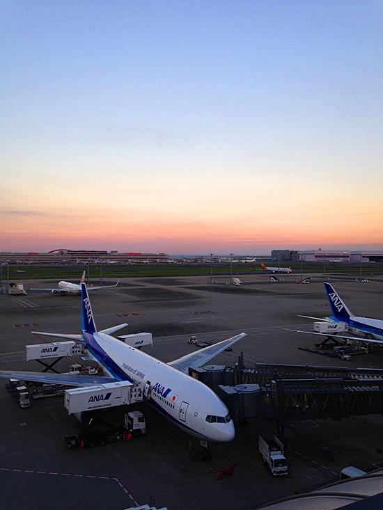 miniature* アイアンフェンス と羽田空港。_e0172847_09350337.jpg