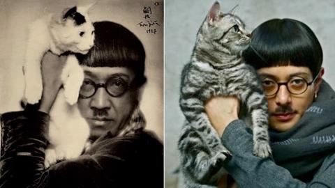藤田と猫の写真_e0356356_15535886.jpg