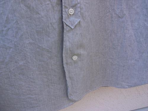 STILL BY HAND インディゴバンドカラーシャツ_d0334060_1333158.jpg