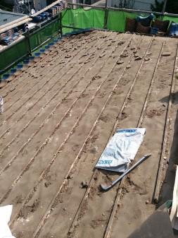 板橋区の西台で、瓦葺き直し工事_c0223192_22322471.jpg