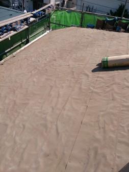 板橋区の西台で、瓦葺き直し工事_c0223192_22325179.jpg