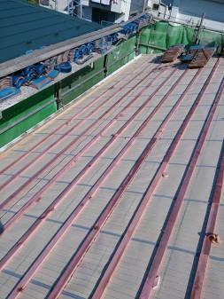 板橋区の西台で、瓦葺き直し工事_c0223192_22335164.jpg