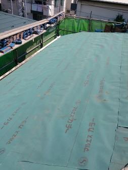 板橋区の西台で、瓦葺き直し工事_c0223192_2233820.jpg