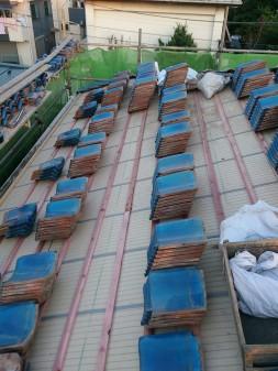 板橋区の西台で、瓦葺き直し工事_c0223192_22341445.jpg