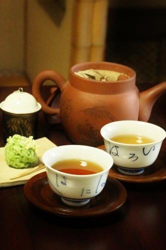 喜楽亭で楽しむ おいしい日本茶 6_b0220318_22593019.jpg