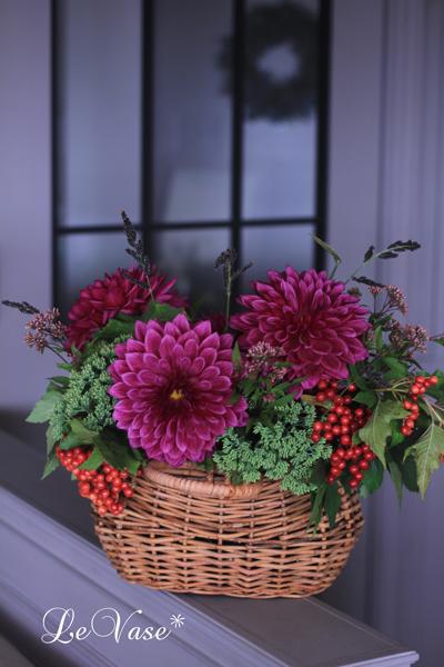 9月のLiving Flowerレッスン_e0158653_003768.jpg