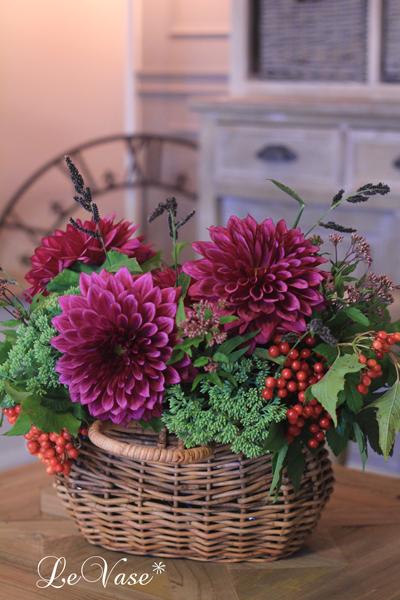 9月のLiving Flowerレッスン_e0158653_23532425.jpg