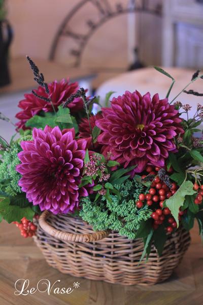 9月のLiving Flowerレッスン_e0158653_23594571.jpg