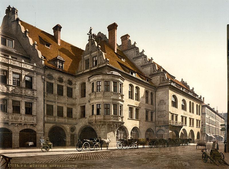ドイツ9日間の旅 6 ミュンヘン  ホフブロイハウス_a0092659_21582573.jpg