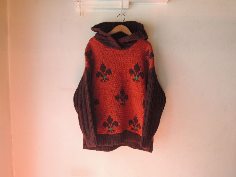 WOOL HOODED SWEATER-LILY EMBLEM---RECOMMEND--_c0176867_18381036.jpg