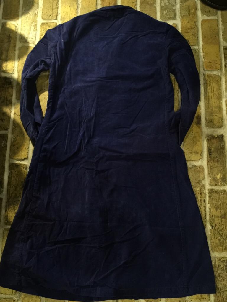 神戸店からお知らせです!+USMD Corduroy Robe!!!(T.W.神戸店)_c0078587_13542462.jpg