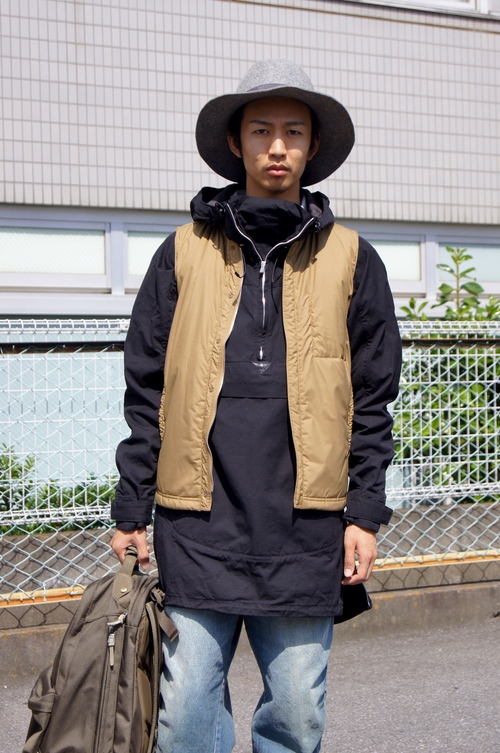 nonnative & kolor/BEACON - Long Layered!!_c0079892_19424137.jpg