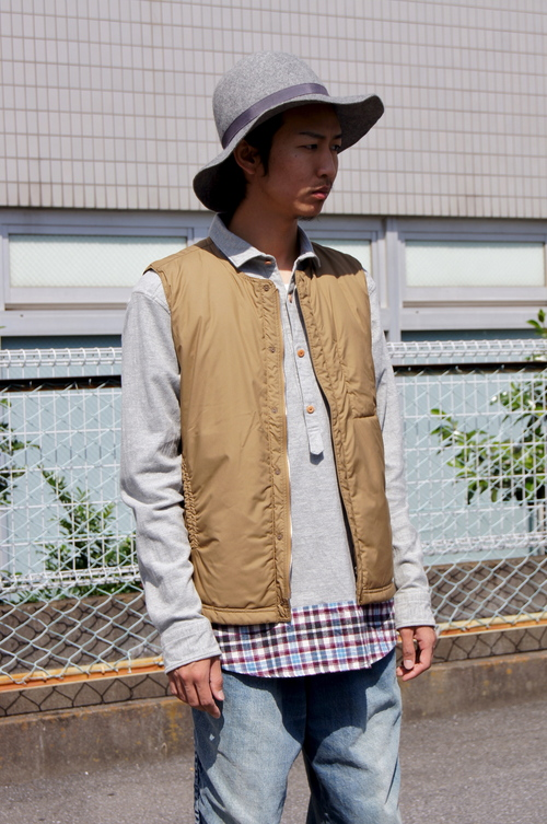 nonnative & kolor/BEACON - Long Layered!!_c0079892_19452628.jpg