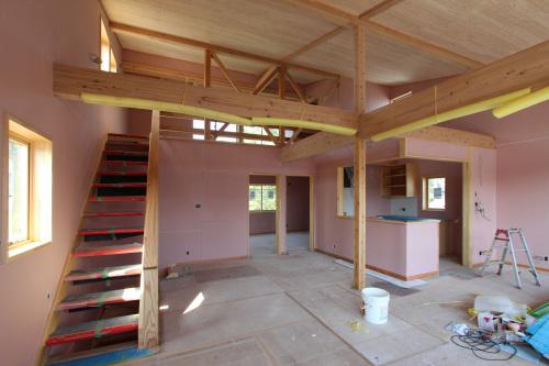 栄町公園の家:木工事が終わる。_e0054299_16110036.jpg